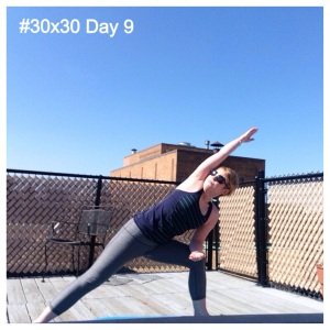 #30x30 Day 9 - Side Angle Pose